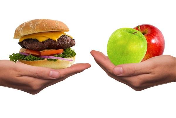 elegimos alimentos menos saludables