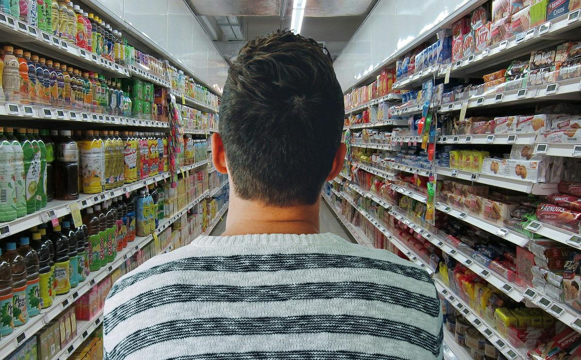 compras alimentos supermercado