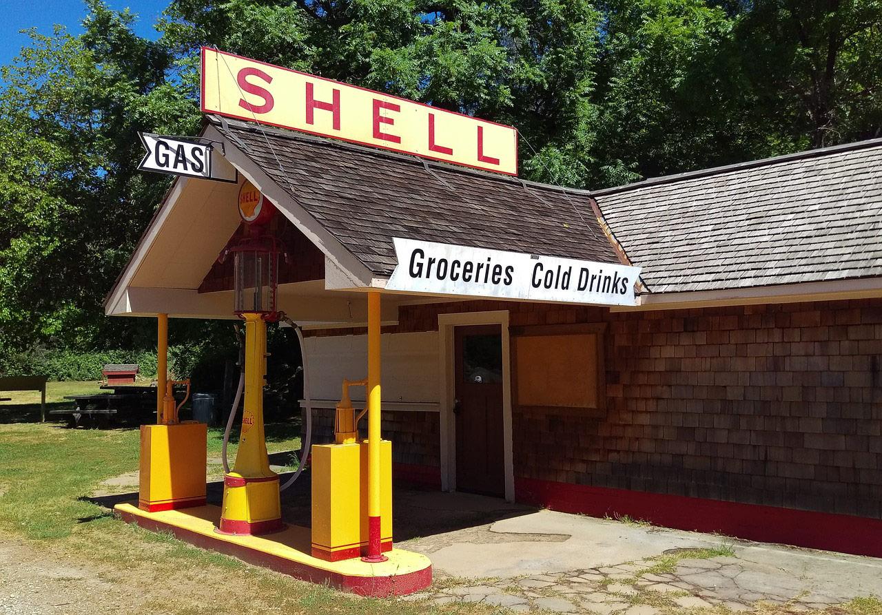 tienda alimentacion gasolinera