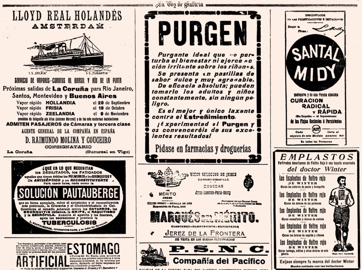 anuncios antiguos remedios medicina